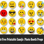 Free Printable Emoji Faces Awesome Printable Emoji Faces 81 Images In Collection Page 2