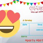 Free Printable Emoji Faces Exclusive 003 Template Ideas Free Emoji Unique Invitation Printable Birthday
