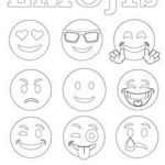 Free Printable Emoji Templates Amazing 93 Best Emoji Coloring Pages Images In 2018