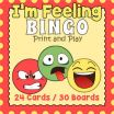 Free Printable Emotion Faces Excellent Emoji Bingo Worksheets & Teaching Resources