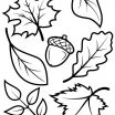 Free Printable Fall Coloring Pages Exclusive Fall Leaves Coloring Pages for Kindergarten Free Printable