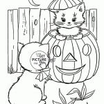 Free Printable Halloween Coloring Pages for Kids Elegant Halloween Coloring Pages Printable Disney Halloween Cat Coloring