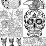 Free Printable Halloween Coloring Pages for Kids Inspirational Coloring Coloring Halloween Zentangle Pumpkin Adult Pages with