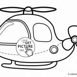 Free Printable Halloween Coloring Pages for Older Kids Beautiful Coloring Helicopter Transportation Colouring for toddlers
