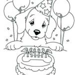 Free Printable Happy Birthday Coloring Pages Inspiration Shocking Coloring Pages Birthday Cake for Adults Picolour