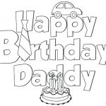 Free Printable Happy Birthday Coloring Pages Pretty Disney Birthday Coloring Pages at Getdrawings