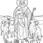 Free Printable Jesus Coloring Pages Amazing Jesus the Good Shepherd Coloring Pages Psr