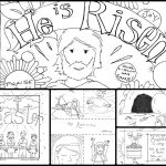 Free Printable Jesus Coloring Pages Marvelous Coloring Jesus Empty tomb Coloring Page for Kids Resurrection Free