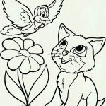 Free Printable Kitten Coloring Pages Amazing Unique Printable Kitten Coloring Page 2019