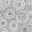 Free Printable Mandala Coloring Pages for Adults Creative Mandala Coloring Page Adult