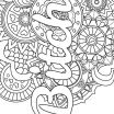 Free Printable Mandala Coloring Pages for Adults Pretty Mandala Adult Coloring Page Swear 14 Free Printable Coloring