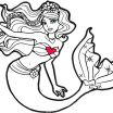 Free Printable Mermaid Coloring Pages Unique Coloring Book Extraordinary Barbie Printable Coloring Pages