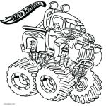 Free Printable Monster Truck Coloring Pages Awesome Hot Wheels Printable Coloring Pages – Psubarstool