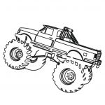 Free Printable Monster Truck Coloring Pages Best Of Truck Drawing for Kids at Getdrawings