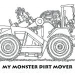 Free Printable Monster Truck Coloring Pages Fresh Construction Truck Coloring Pages – Campradio
