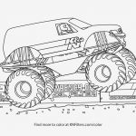 Free Printable Monster Truck Coloring Pages Fresh Monster Truck Coloring Page