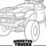 Free Printable Monster Truck Coloring Pages Inspirational 65 Semi Truck Coloring Pages Free Blue History