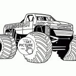 Free Printable Monster Truck Coloring Pages Inspirational Monster Jam Coloring Pages Maximum Destruction