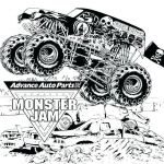 Free Printable Monster Truck Coloring Pages Inspirational Truck Coloring Page Vintage Truck Coloring Pages Old Pickup Truck