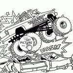 Free Printable Monster Truck Coloring Pages New Fiat Coloring Pages