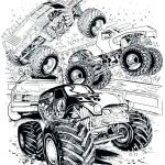 Free Printable Monster Truck Coloring Pages New Free Monster Truck Coloring Pages to Print – Mariage isa Maxfo