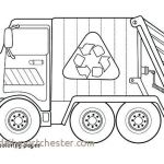 Free Printable Monster Truck Coloring Pages Unique 14 New Garbage Truck Coloring Page