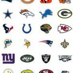 picture regarding Printable Nfl Logos identified as 43 Perfect Illustrations or photos Of Absolutely free Printable Nfl Emblems www