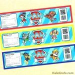 Free Printable Paw Patrol Amazing soda Can Label Template