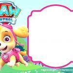 Free Printable Paw Patrol Excellent Blank Birthday Invitation Template – thead Pany