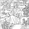 Free Printable Pictures Of Jesus Inspired Free Angel Coloring Pages