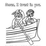 Free Printable Pictures Of Jesus Marvelous Free Jesus asleep In the Boat Printable From Charlotte S Clips