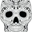 Free Printable Skull Coloring Pages Amazing Sugar Skull Colouring Pages – 488websitedesign