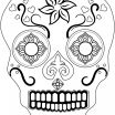 Free Printable Skull Coloring Pages Awesome Coloring Ideas 60 Fantastic Sugar Skull Coloring Pages for Kids