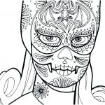 Free Printable Skull Coloring Pages Best Sugar Skull Coloring Sheets