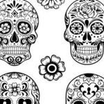 Free Printable Skull Coloring Pages Elegant Free Printable Day the Dead Coloring Pages Elegant Day the Dead