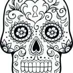 Free Printable Skull Coloring Pages Exclusive Coloring Pages Sugar Skull Coloring Page Printable Free Pages Day