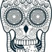Free Printable Skull Coloring Pages Inspirational Coloring Pages Skulls Skull for Adults Sugar Color and