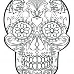 Free Printable Skull Coloring Pages Marvelous Rainbow Coloring Pages Free Pot Gold Template Printable