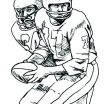 Free Printable Sports Coloring Pages Excellent Free Printable Mini Figure Coloring Pages Inside S Lego Football