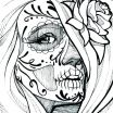 Free Printable Sugar Skull Coloring Pages Awesome Sugar Skull Coloring Pages Art is Fun Another Idea is to Print the