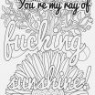 Free Printable Swear Word Coloring Pages Inspiration Coloring Pages for Kids Free