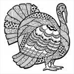 Free Printable Zentangle Coloring Pages Awesome Coloring Book World Coloring Book World Free Printable Turkey