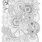 Free Printable Zentangle Coloring Pages Awesome Flowers Abstract Coloring Pages Colouring Adult Detailed Advanced
