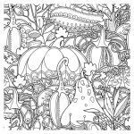 Free Printable Zentangle Coloring Pages Inspirational Fall Coloring Pages Ebook Fall Pumpkins Berries and Leaves