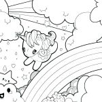 Free Rainbow Coloring Pages Exclusive Baby Unicorn Coloring Pages Baby Unicorn Coloring Pages Page Free