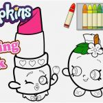 Free Shopkins Coloring Pages Best Of the Suitable Shopkins Coloring Book Famous Yonjamedia