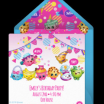 Free Shopkins Online Excellent 91 Shopkins Birthday Invitations Free Download by Sizehandphone