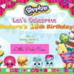 Free Shopkins Party Printables Inspired Hadara S Shopkins Birthday Party On A Bud