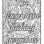 Free Swear Word Coloring Pages Inspiration 20 New Free Printable Coloring Pages for Adults Ly Swear Words