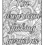Free Swear Word Coloring Pages Inspired Amazon Be F Cking Awesome and Color An Adult Coloring Book